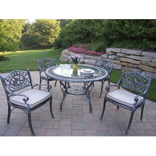 Mississippi Hummingbird Dining Set with Cushions
