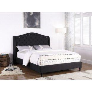 Kirbyville Upholstered Platform Bed by Charlton Home