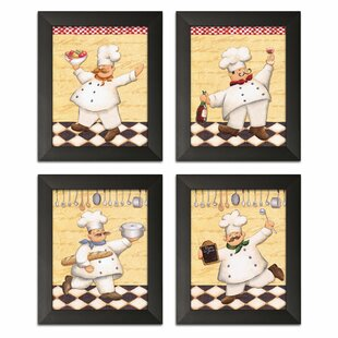 Fat Chef Kitchen Wall Art Wayfair