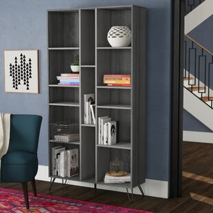 Goetsch Standard Bookcase by Wrought Studio