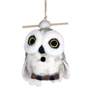 Global Crafts Snowy Owl Fe..