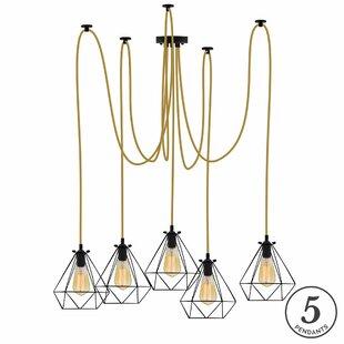 Brayden Studio Esai 5-Light Cluster Pendant