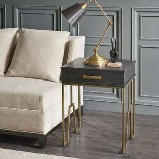 Paragon End Table by Madison Park Signature
