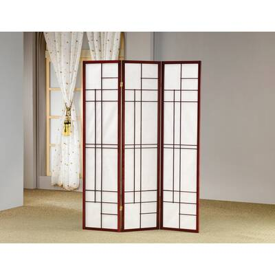 Bayou Breeze Amarion 3 Panel 6ft Room Divider Wayfair