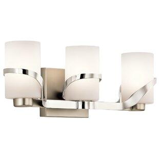 Latitude Run Ridgley 3-Light Vanity Light