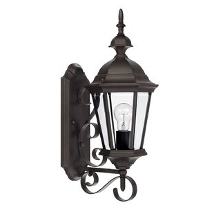 Buying Hounsfield 1-Light Outdoor Sconce By Alcott Hill