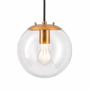 Poppe 1-Light LED Globe Pendant