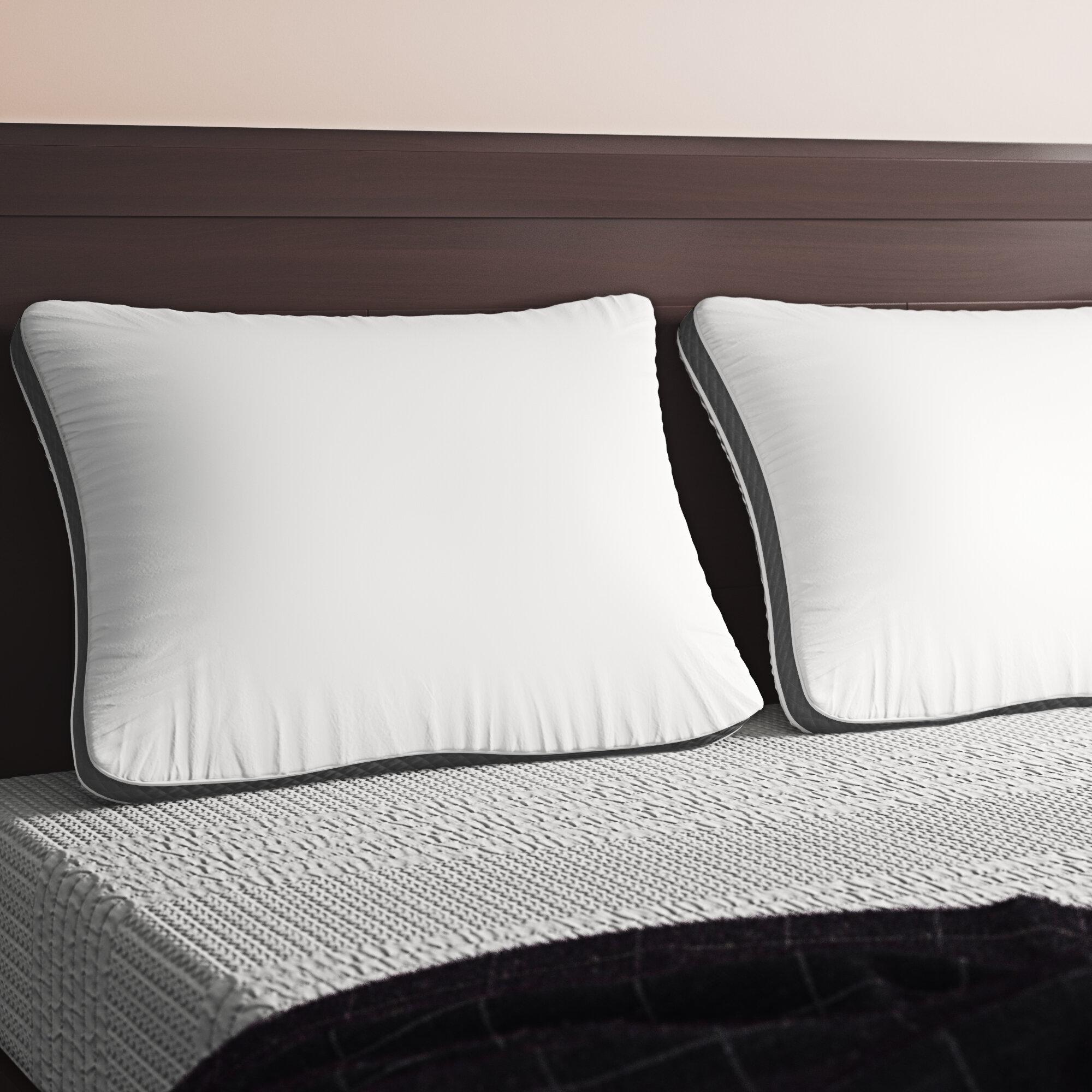 Isadora Plush Fiber Bed Pillow