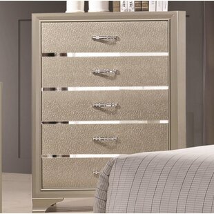 House of Hampton Cirebon 5 Drawer Chest
