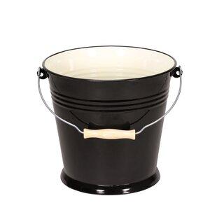 Triest Enamel Bucket By Karl Kruger