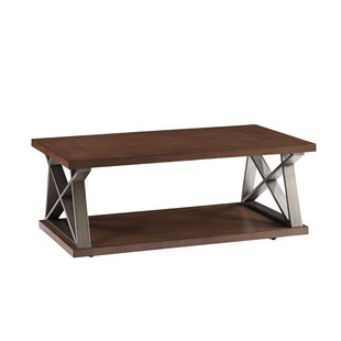 Cumberland Coffee Table with Magazine Rack