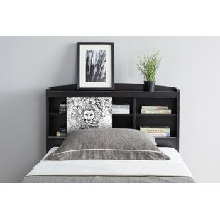 Affordable Price Grubbs Bookcase Headboard by Wrought Studio Reviews (2019) & Buyer's Guide