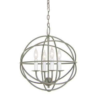 JVI Designs Globe 4-Light Pendant