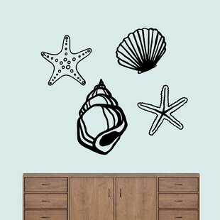 Seashell Wall Decals Wayfair