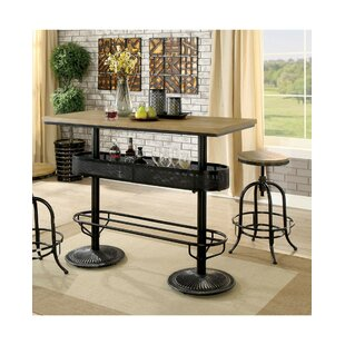 Julianna Metal 2 Piece Pub Table Set by 17 Stories