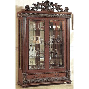 Astoria Grand Conway Lighted Curio Cabinet