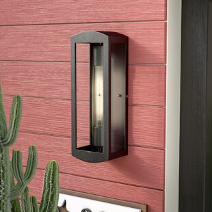Deals Sanders 1-Light Outdoor Flush mount By Trent Austin Design