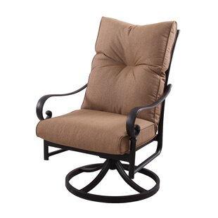Carlitos Swivel Rocking Chair with Cushions (Set of 4) by Darby Home Co