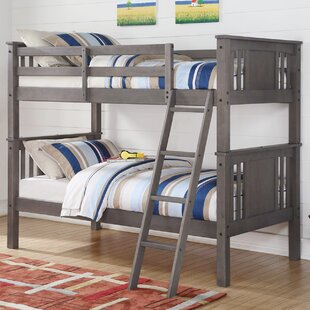 Top Reviews Bearman Twin over Twin Bunk Bed ByBirch Lane™