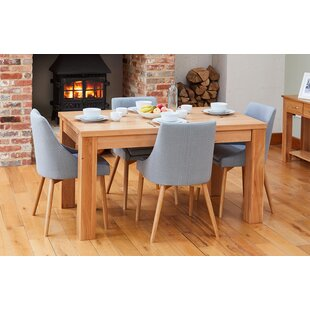 Coolnagoppoge Dining Set With 4 Chairs By Rosalind Wheeler