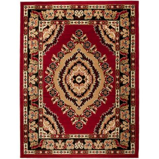 Halite Red Area Rug by Home & Haus