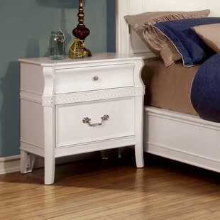 Online Reviews Harlow 2 Drawer Nightstand by Hokku Designs
