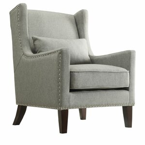 Oneill Wingback Armchair by Andover Mills