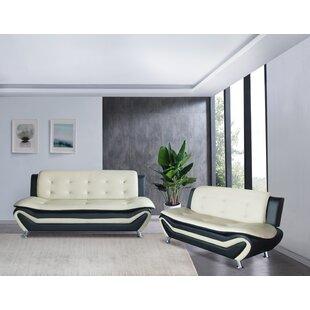 Vizcarrondo 2 Piece Living Room Set by Orren Ellis