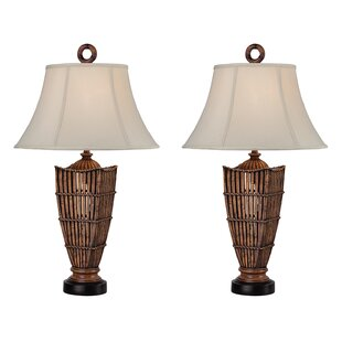 Reid Rattan 32 Table Lamp (Set of 2)