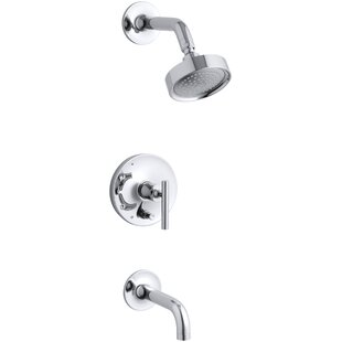 Reviews Purist Rite-Temp Pressure-Balancing Bath and Shower Faucet with Lever Handle ByKohler