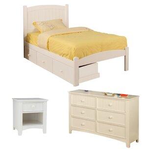 Caren Panel Configurable Bedroom Set ByHokku Designs