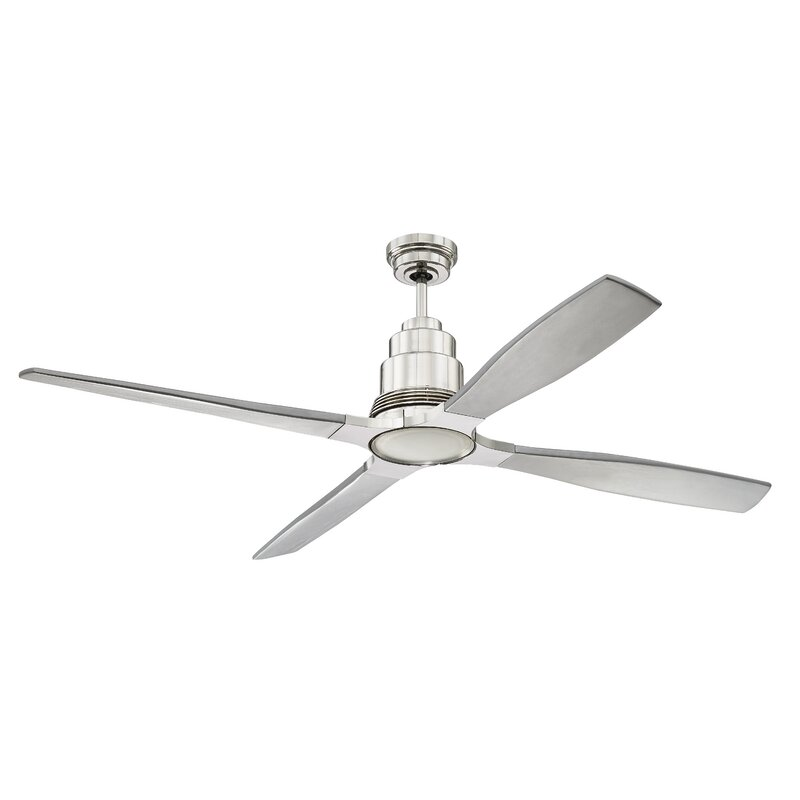 Brayden Studio 60 Quot Karina 4 Blade Ceiling Fan With Remote