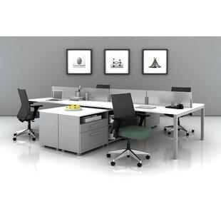 Trig Teaming Desk Office Suite