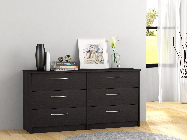 Zipcode Design Karis 6 Drawer Double Dresser Amp Reviews