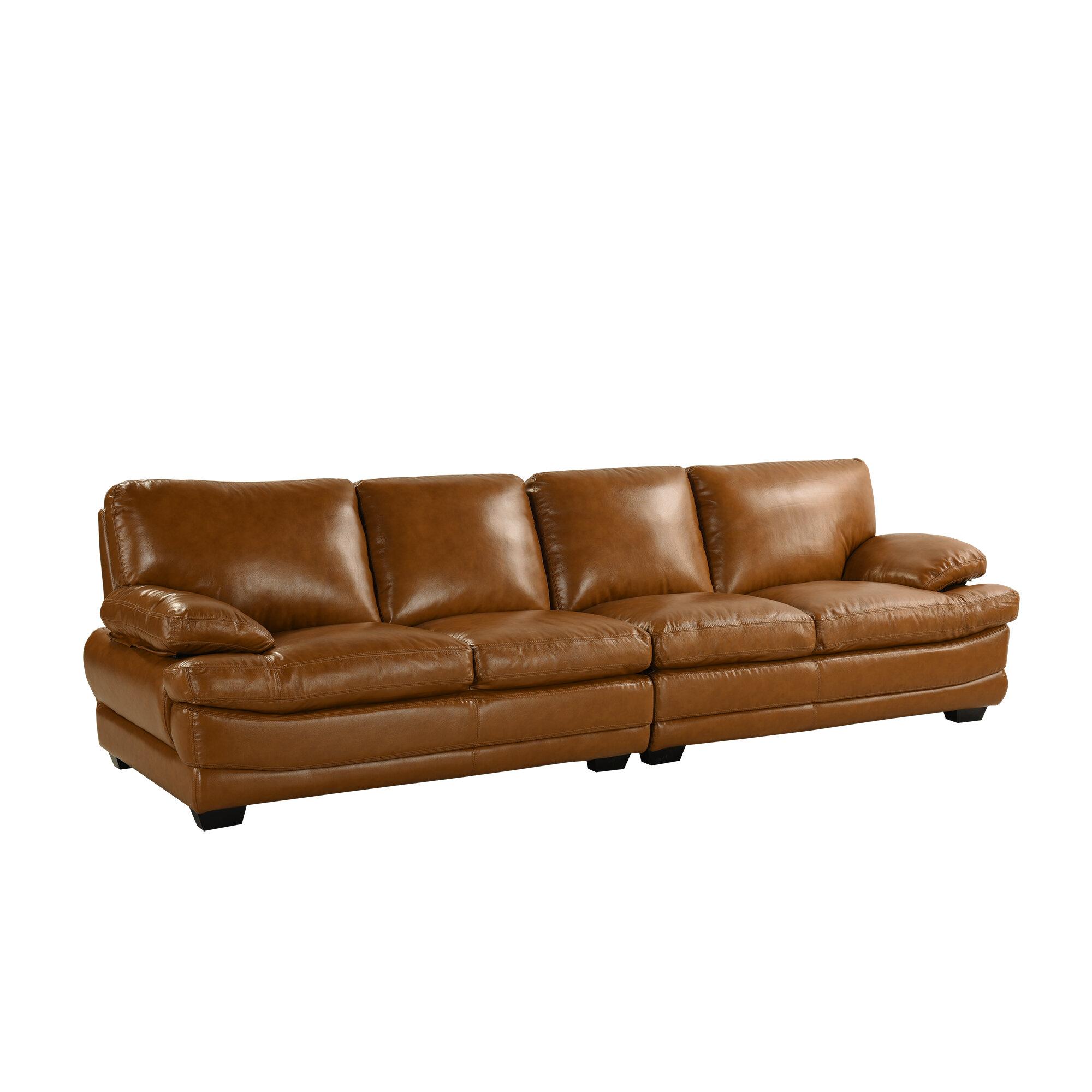 Laude Run Gueye Overstuffed Leather