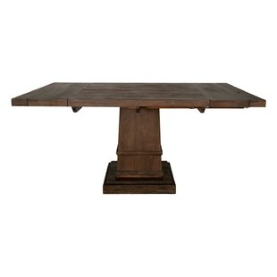 Gracie Oaks Amos Modish Square Extendable..