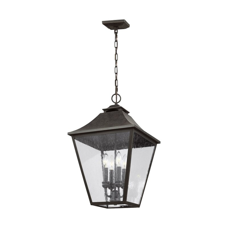 Bulb Outdoor Hanging Lantern