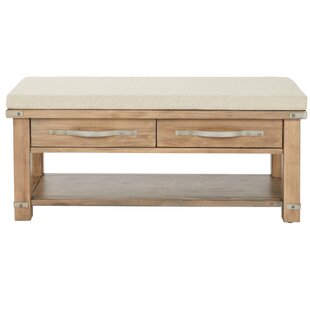 17 Stories Linder Upholstered Storage Bench