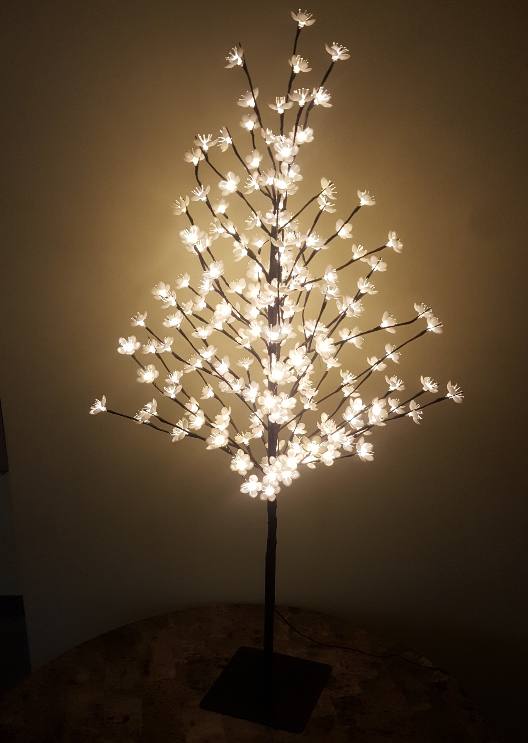 reputable site d7271 e7410 Cherry Blossom Tree 200 Light LED Lighted Tree