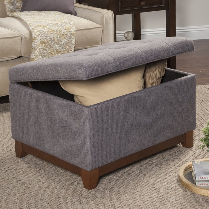 Enjoyable Nunnally Tufted Storage Ottoman Unemploymentrelief Wooden Chair Designs For Living Room Unemploymentrelieforg