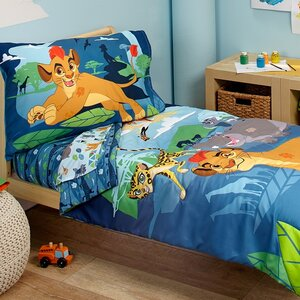 Lion Guard - Prideland Adventure 4 Piece Toddler Bedding Set