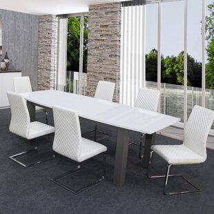 Vihaan Expandable Dining Table by Orren Ellis Fresh
