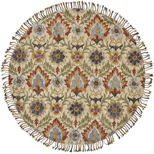 Fairhaven Hand-Tufted Golden/Olive Area Rug by Bungalow Rose
