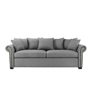 Dunnstown Classic Scroll Arm Standard Sofa by Charlton Home
