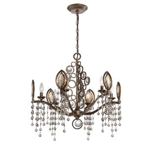 Eurofase Capri 6-Light Candle Style Chandelier