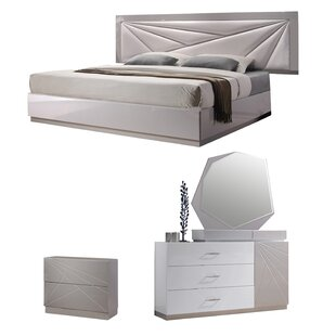 Ernesto Platform Configurable Bedroom Set by Wade Logan New Design