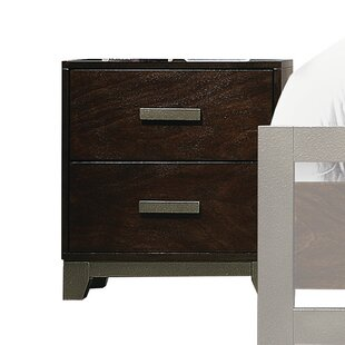 Nannette 2 Drawer Nightstand by Williston Forge