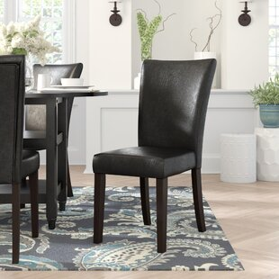 Pomfret Espresso Parson Chair (Set of 2) by Andover Mills