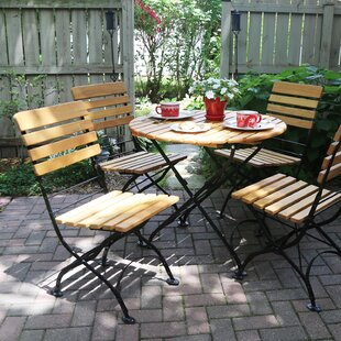August Grove Dowe 5 Piece Dining Set