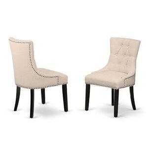 Dancer Upholstered Dining Chair (Set of 2)